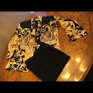 Bundle/Metro Jacket L w/Jones NY Skirt 10